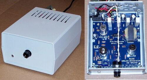 DELUXE Knight WIRELESS BROADCASTER vintage vacuum tube AM radio transmitter kit