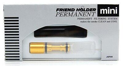 Friend Holder Permanent - kurze Zigarettenspitze mit 2 Mundstücken - o. Filter!