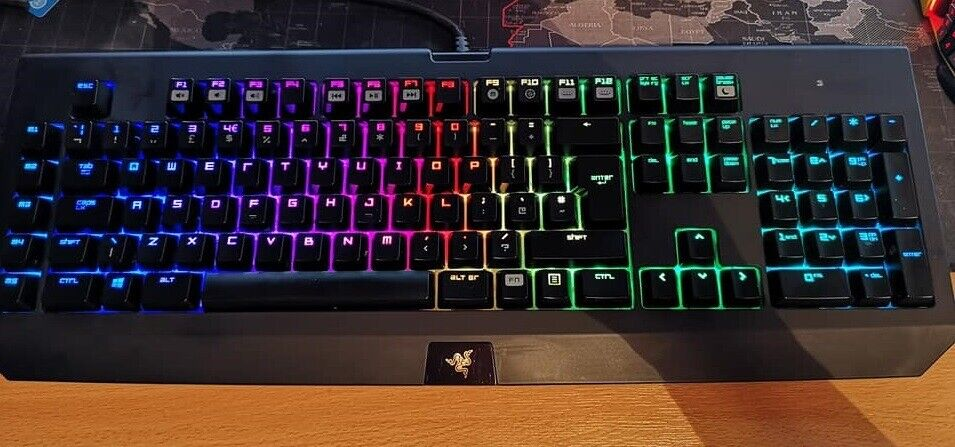 Razer Blackwidow Chroma v1 Mechanical keyboard | in Renfrew, Renfrewshire |  Gumtree