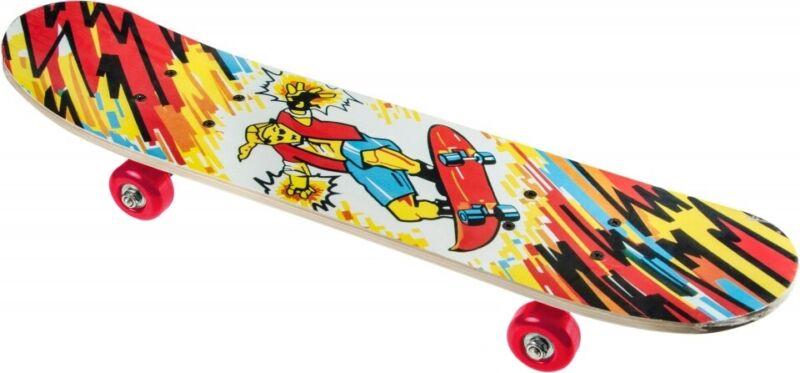 Skateboard Deck Funboard Holzboard Komplett Kinder 60 cm Holz bunt Mini Board