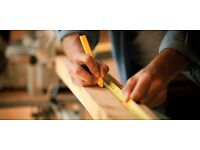 Qualified Carpenter available weekends