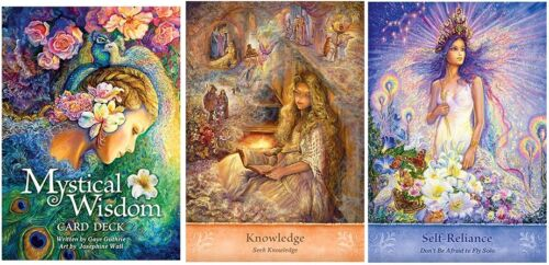 Mystical Wisdom NEW 46 cards Inspirational oracle Josephine Wall Gay Guthrie