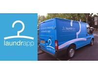 Earn up to £2k per month + vehicle provided + fuel + insurance: Become a Laundrapp Driver