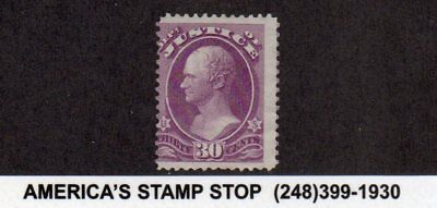 1873 US Official Department of Justice SC O33, Mint NG - VG, Exceptional Color*