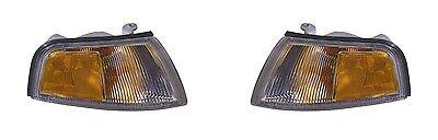 1997 - 2002 MITSUBISHI MIRAGE 4D PARK/SIGNAL LAMP LIGHT LEFT AND RIGHT PAIR SET Lamp Park Lights Set