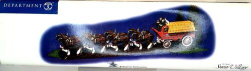 Department 56 Budweiser Clydesdales 2004 Snow Village #56.55256 Anheuser-Busch