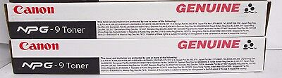 (4) Canon NPG-9 F42-0701-700 Toner Cartridge Black for NP6016 / 6521 ()