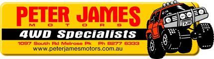 Peter James Motors 4WD Specialists