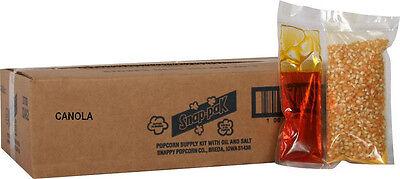Popcorn Machine Supplies Snap Paks Canola Oil For 6 Oz