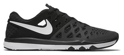 Nike Train Speed 4 Mens Running Shoe Size 10.5 Black White Reflective