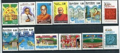D183573 Sri Lanka Nice selection of MNH stamps