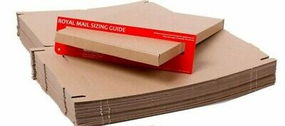 Royal Mail C4 Large Letter - 320 x 230 x 20mm Cardboard Mailing Boxes Pack of 30