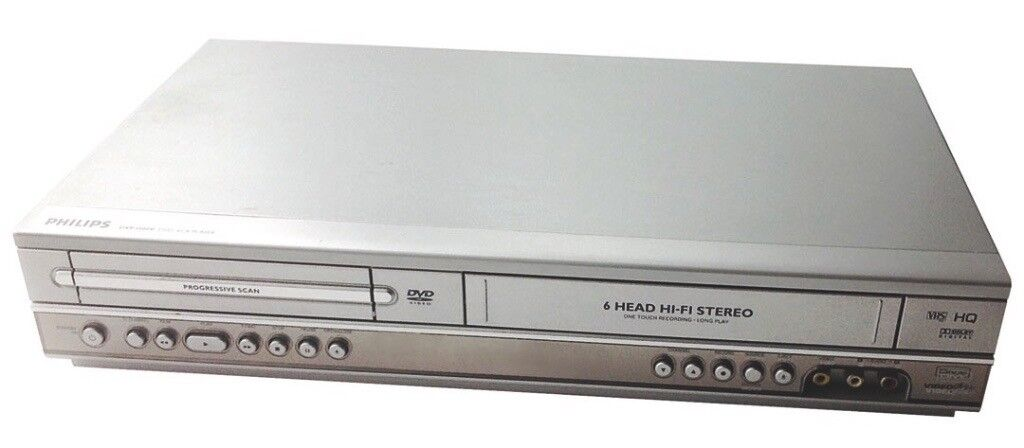 Philips DVP3100V DVD & VCR PLAYER - REDUCED COST, plays DVDs/VIDEO CDs/VIDEO CASSETTE TAPES