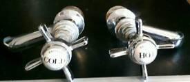Old antique taps