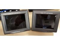 "2 x 6"" 12 Volt VideoTronic TFT LCD Monitors with Audio Input"