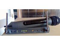 Wireless trantec handheld microphone excellent condition 65 ono