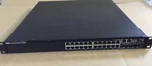 Dell PowerConnect 7024 Switch - (24) 10/100/1000BASE-T Gigabit Ports - (4) SFP Combo Ports - 84NJ8