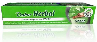 Dabur Paste Neem (ayurvedische Kräuterzahncreme mit Neemblattextrakt) 100ml