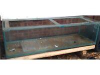 """6' x 2' x 20"""" glass fish tank"""