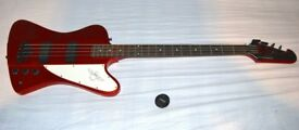 Epiphone Thunderbird Bass Guitar Limited edition Candy apple red