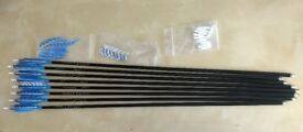 """8 x 32"""" EASTON X7 ECLIPSE with 4in feather vanes"""