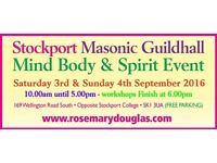 Stockport Mind Body Spirit Event