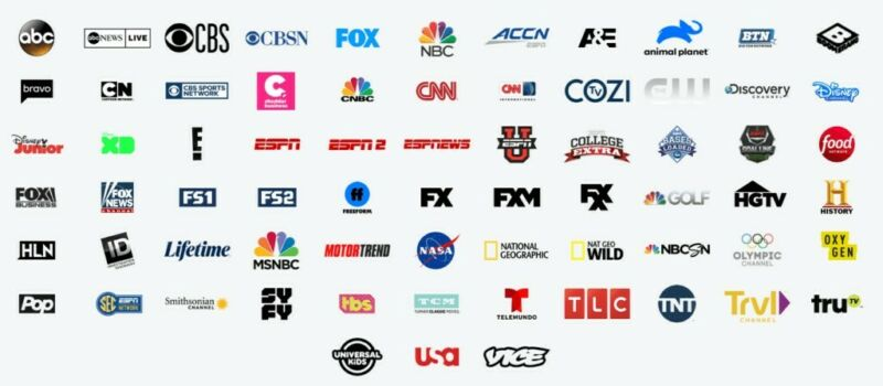 HULU LIVE TV, HBOMAX, CINEMAX, SHOWTIME, STARZ, EnhancedDVR + Unlimited Scr 1mo