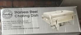 BRAND NEW CHAFING DISH. BOX UNOPENED. NEVER USED