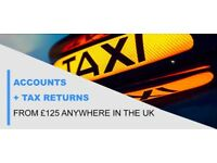 Are you a Taxi Driver? | Need an accountant? | Accounts + Tax returns from £125 Anywhere in the UK