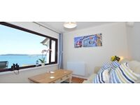 180 degree Sea view one bedroom holiday let south coast Devon MARCH 2017 LAST MINUTE