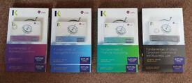 CIMA Certificate Level [BA1, BA2, BA3, BA4] Kaplan Textbooks, Exam Practice Kit & Revision Cards