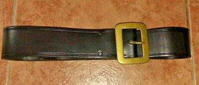 James The Cordwainer Leather Belt Womens 58