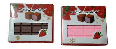Cute Chocolate Bar Note Pad (Assorted Color)