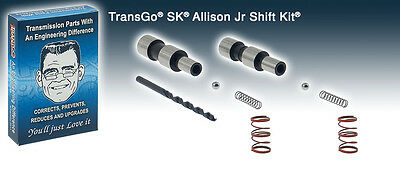 TRANSGO SHIFT KIT ALLISON 6 SPEED TRANSMISSION 2005-10 DURAMAX  (SKALLISON-JR)* ()