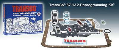 TransGo Transmission Reprogramming Kit Ford C-6 1967-On SK67 1&2 (67-1&2)*