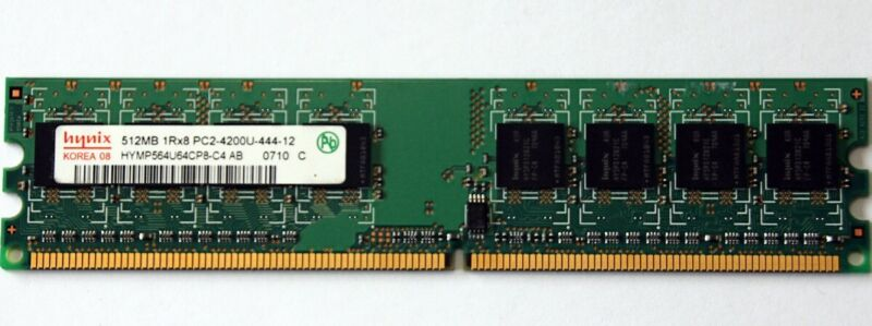 Hynix  512 MB  DDR2-533 RAM PC2-4200U Memory Modules FREE Shipping #028
