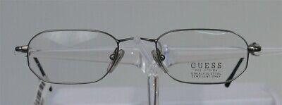 GUESS GU 4060 Brille Brillengestell Silber Edelstahl Damen Herren Eyeglasses NEU (Herren Guess Brillengestelle)