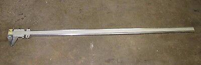 L.s. Starrett 123 M 123m 1m 850mm 1850 Mm Approx. 74 Vernier Micrometer Caliper