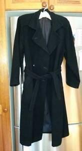 Wallis brand black woollen coat Lane Cove Lane Cove Area Preview
