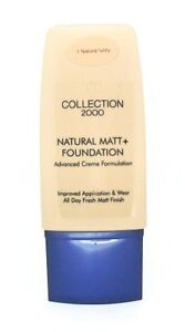 Collection 2000 Natural Matt + Foundation Natural Ivory