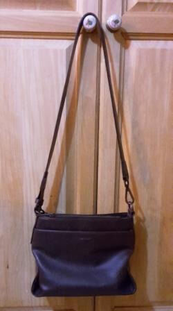 """MattNat designer vegan shoulder/cross body bag (usedin York, North YorkshireGumtree - """"Our collections are all designed by our close knit team in Montreal, Quebec. We develop prototypes and collections based on our sketches, using our signature vegan leathers and using eco friendly materials like recycled nylon, cork and rubber.""""..."""