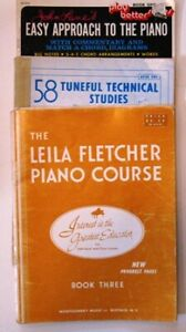 Piano Studies books for Beginners