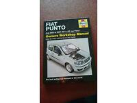 Haynes Manual Fiat punto . Aug 2003 to 2007 (03 to07 reg) Petrol
