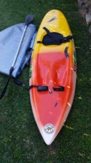 Surf ski, cover and paddle  in as new condition Lota Brisbane South East Preview
