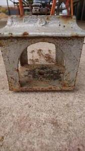 old cast iron verandah post pedestal bases Hamley Bridge Wakefield Area Preview