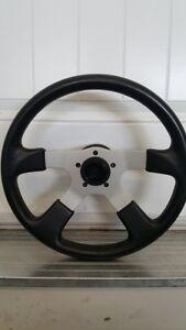 Grant 4 spoke steering wheel.