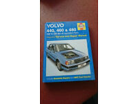 Haynes Manual. Volvo 440,460 & 480. 1987 to 1997 (D to P registration) Petrol