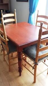 4 Ladder back Chairs for Sale