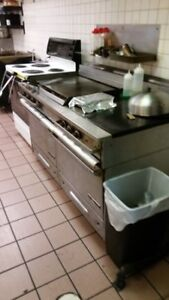 Large Garland Commercial electric grill