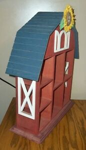 Mary's Moo Moos Large Wooden Barn Display by Enesco London Ontario image 3